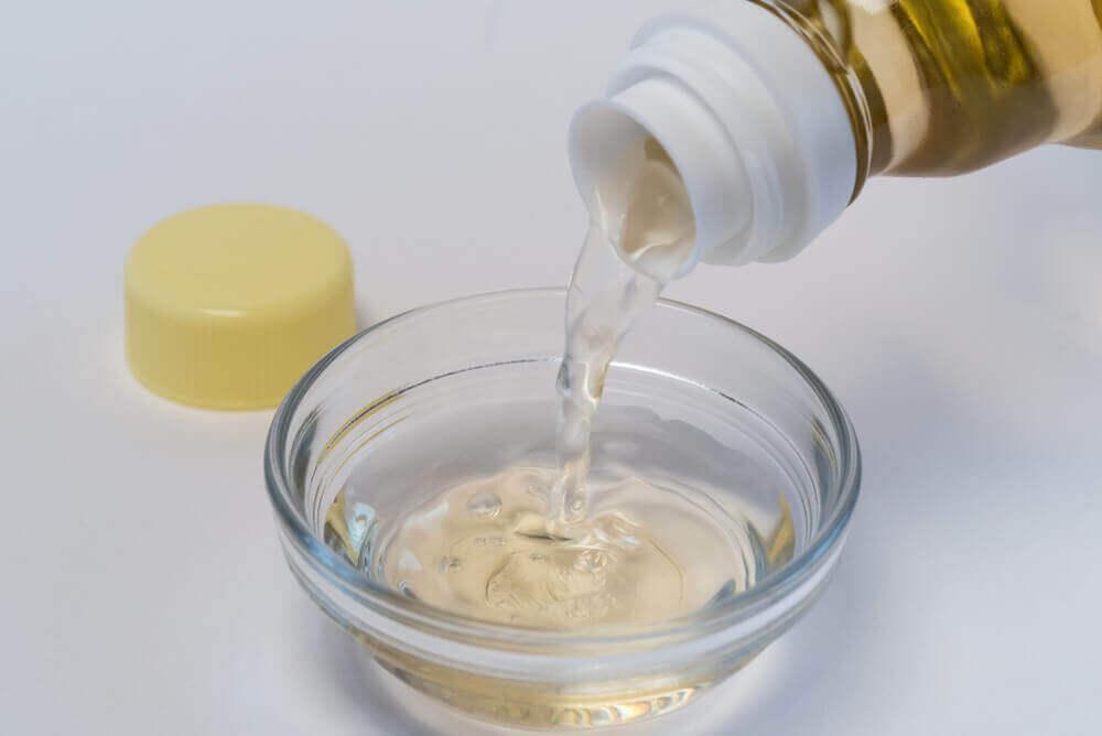Use apple cider vinegar to clean your washing machine.