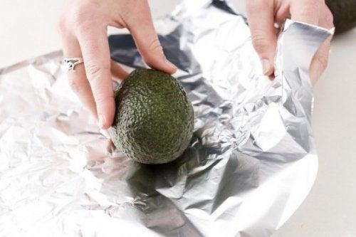 avocado aluminum foil