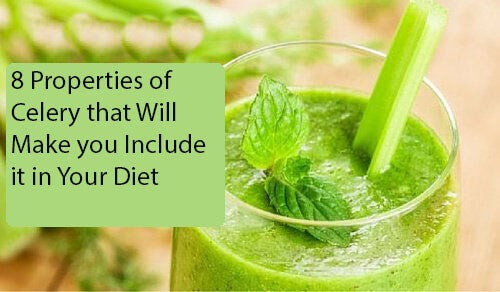 8 Properties of Celery that will Make You Include it in Your Diet