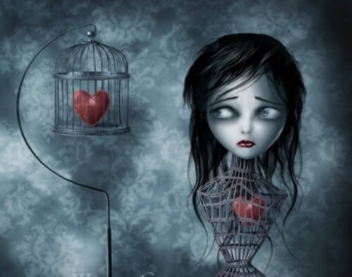 woman-with-heart-in-a-cage