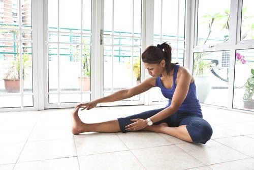 Stretching is key to get firmer glutes