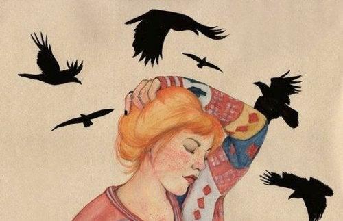 3-女人及鳥