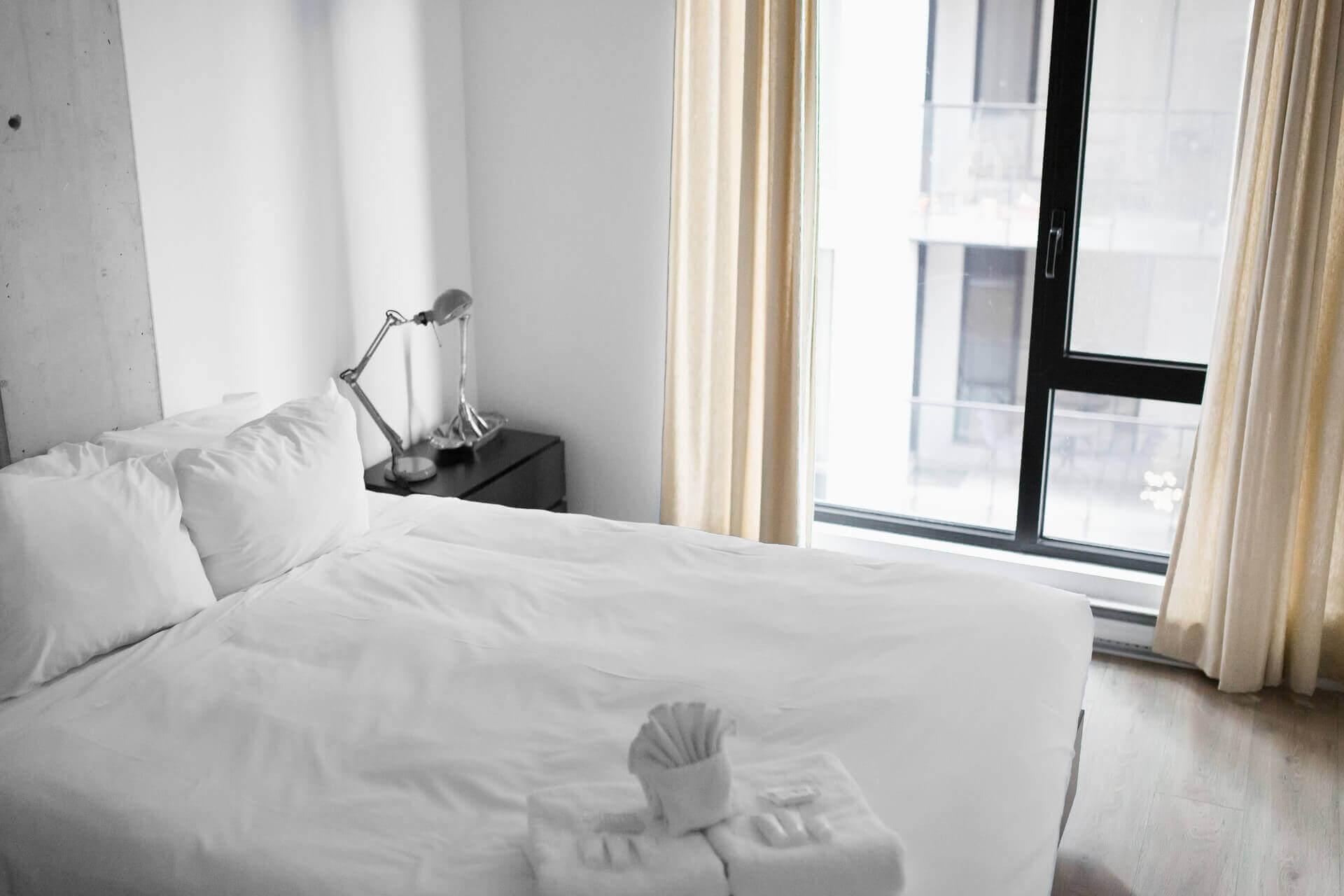 A comfortable mattress.