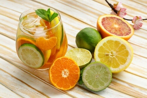 eliminating toxins with citrus for breakfast