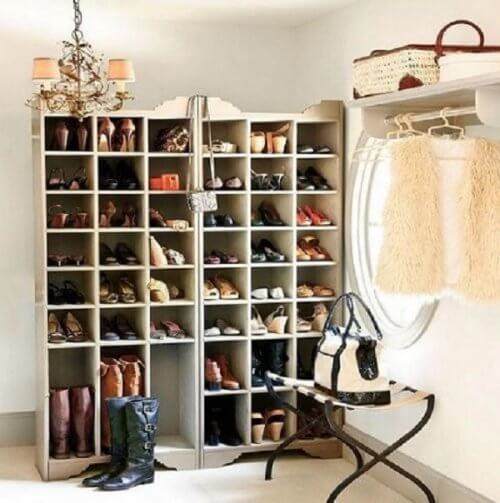 20 Creative Ideas for Organizing Shoes