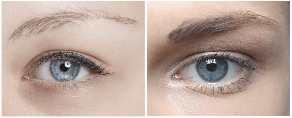 How to thicken your eyebrows.