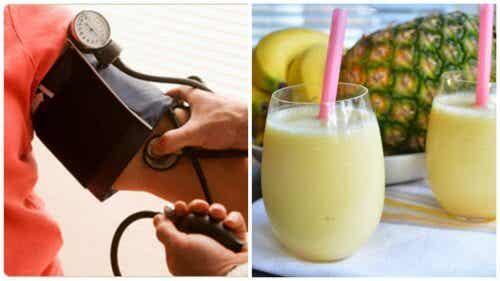 Morning Shake to Combat High Blood Pressure Symptoms