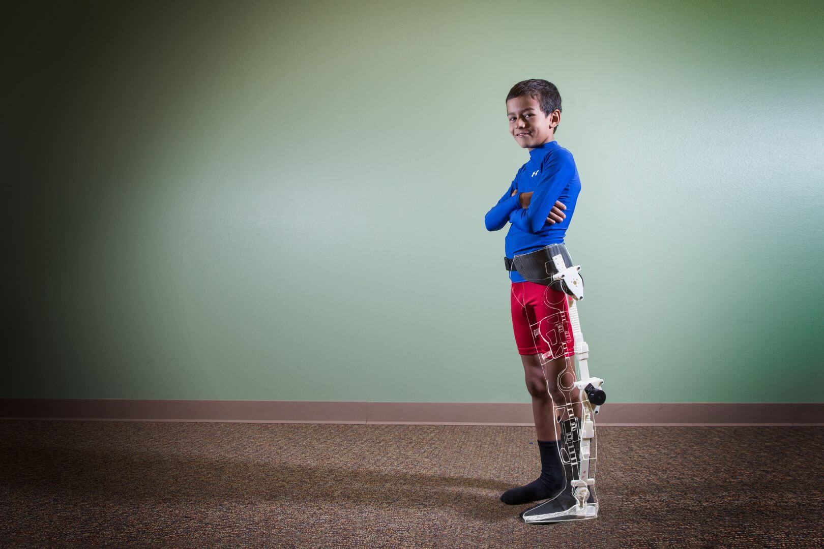 exoskeleton for paraplegic children