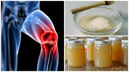 Gelatin for joint pain - remedies