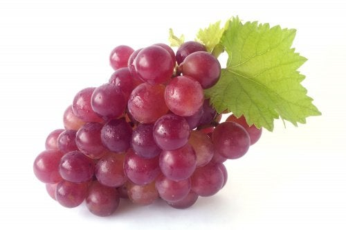grape's polyphenols help with stretch marks and skin regeneration