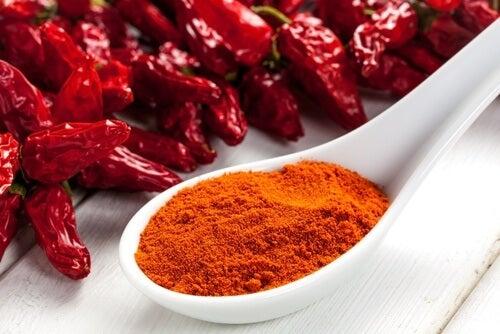 Cayenne pepper.
