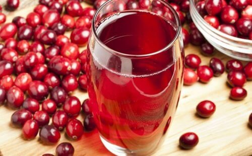 Cranberry juice is great for vaginal health