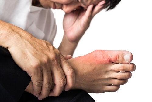 gout causes joint pain