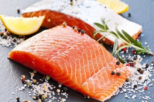 salmon to stop candida growth