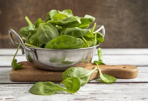 Spinach is great for relieving contipation