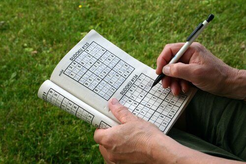 Doing sudoku puzzles games helps strengthen your brain