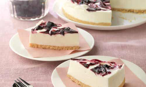 How to Make a Blueberry Cheesecake