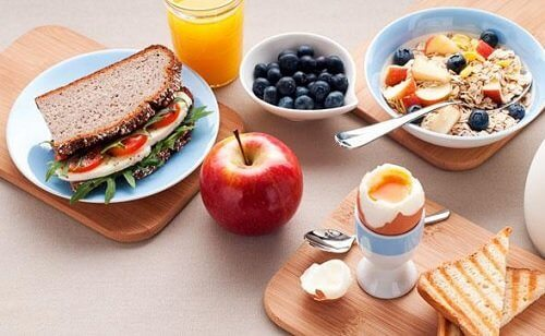 The best food proportions for breakfast