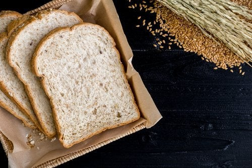 bread and whole grains