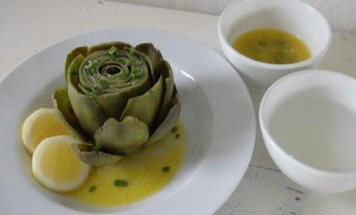 artichoke-lemon