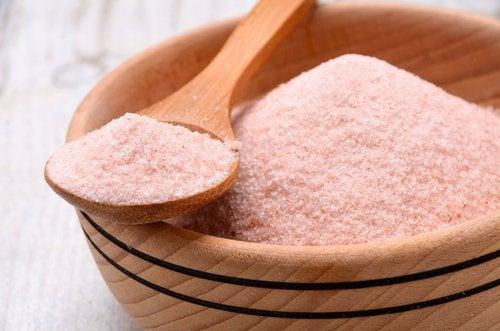 Pink Himalayan salt.
