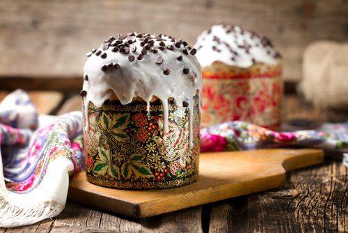 Ice cream with chocolate sprinkles