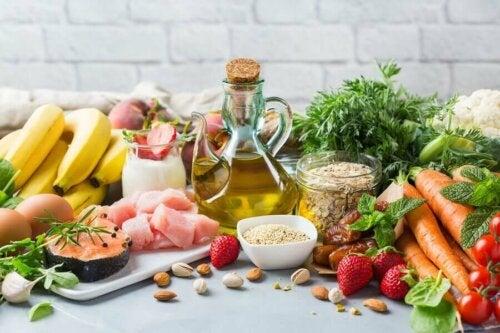 The Mediterranean diets.