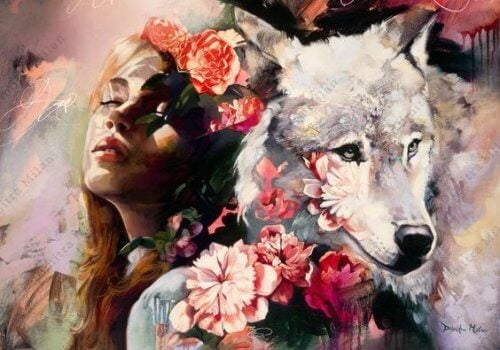 woman-with-wolf-500x350