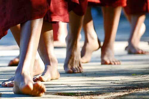 Learn to do Walking Meditation to Relax and Exercise