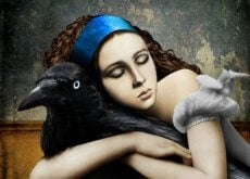 1-woman-and-a-raven