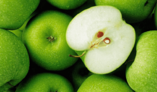 Green apples are great for your heath and to reduce saturated fat