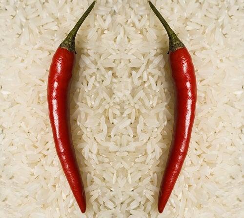 Chilit ja riisi