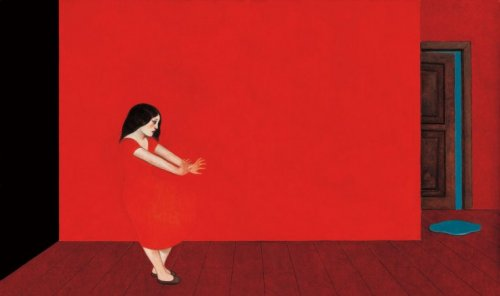 4-woman-red-walls