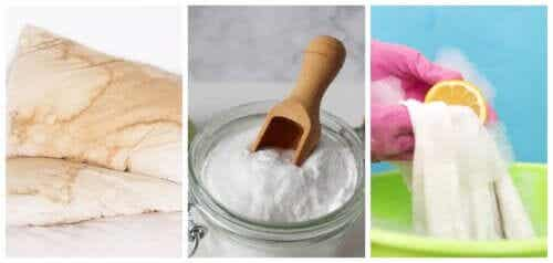 How to Whiten Pillows and Mattresses