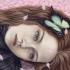 nina-con-mariposa-en-el-cabello-500x354