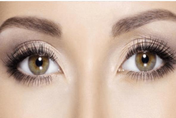 A lady's eyes.