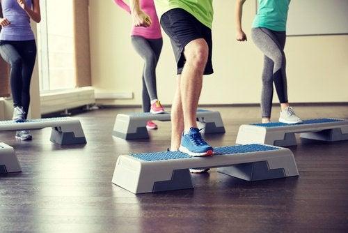 Fat burning aerobic exercises