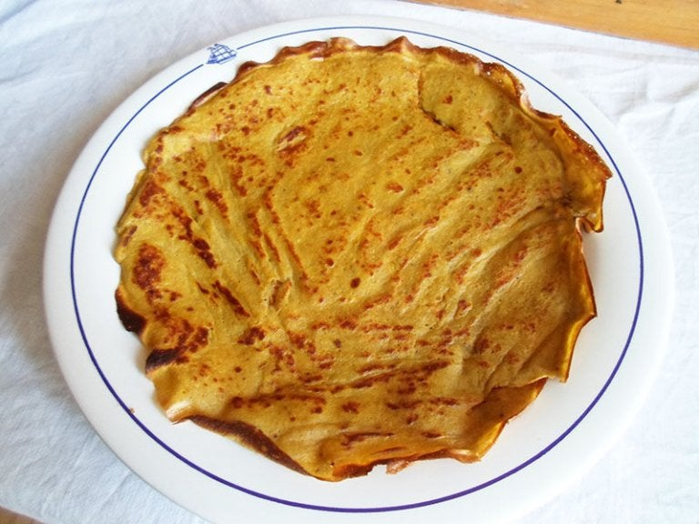 Banana Crepes without Gluten, Sugar and Lactose!
