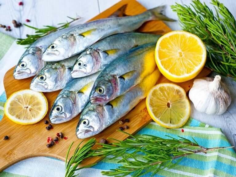 Oily fish.