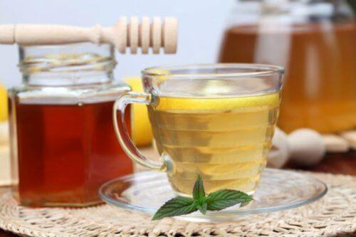 omenaviinietikka ja hunaja