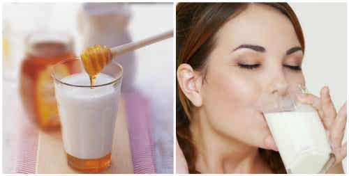 7 Reasons You Should Have a Glass of Milk and Honey Before Bed