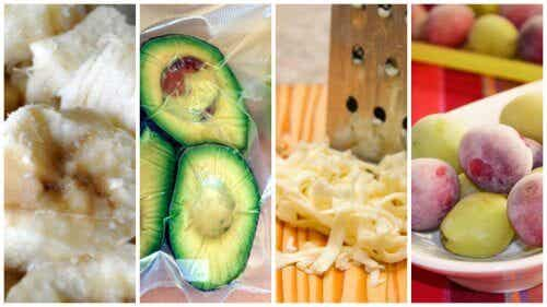 9 Surprising Foods That You Can Freeze Frozen