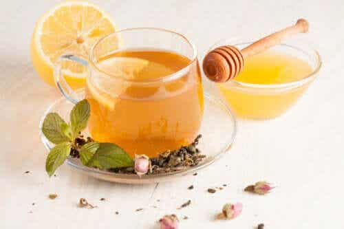 A Ginger-Aloe Vera Tisane is a Powerful Drink