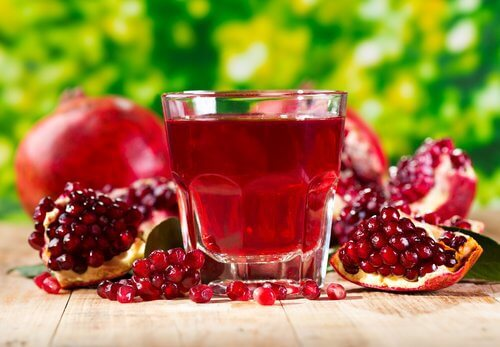 Pomegrates are a good way to help unclog your arteries naturally