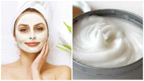 An Aspirin and Yogurt Face Mask to Clear Skin Blemishes