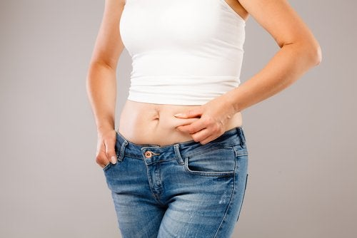 excess abdominal fat is a common symptom of a hormonal imbalance