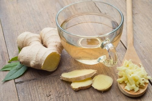 ginger tea - alternative treatments for fatty liver