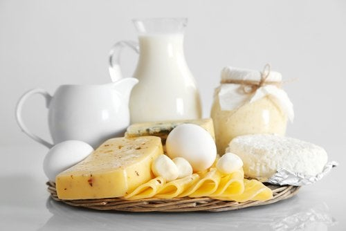 Dairy products eggs milk butter cheese problems with your joints