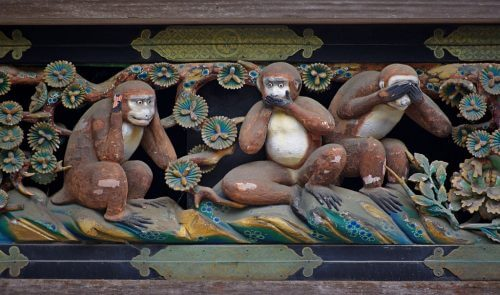 "The Real, Fascinating Lesson of the ""Three Wise Monkeys"""