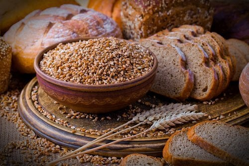 Full and whole grain products
